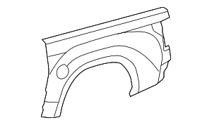 Outer Panel - Toyota (65817-0C100)
