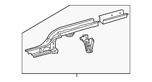 Rear Rail Assembly - Toyota (57602-52323)