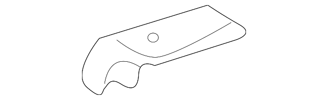 Inner Panel Reinforcement - Toyota (55726-3C020)