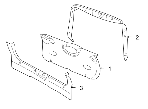 Interior Trim For 2006 Ford Focus