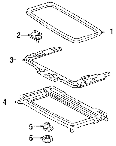 Handle - Toyota (63260-87007)