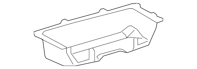 Storage Compartment - Toyota (58571-0R020-B1)