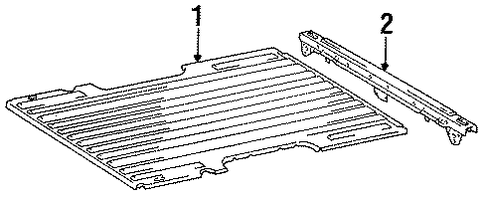 Bed Floor - Toyota (65311-34040)