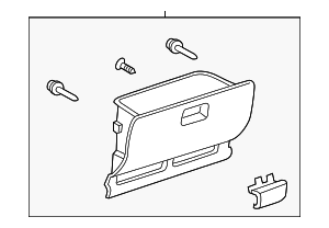 Glove Box Assembly - Toyota (55550-52110-B0)