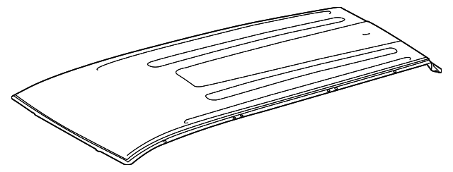 Roof Panel - Toyota (63111-0E210)