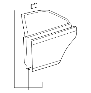 Door Shell - Toyota (67003-12A90)