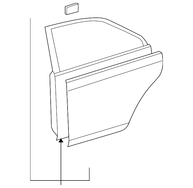 Door Shell - Toyota (67004-12A90)