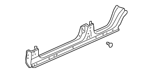 1996 Honda CIVIC SEDAN DX PANEL, R. SIDE SILL - (04631S04300ZZ)