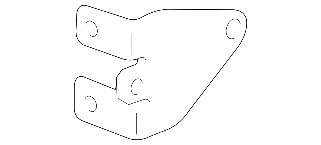 OEM Honda 39161-S2A-000 - AM/FM CD Bracket