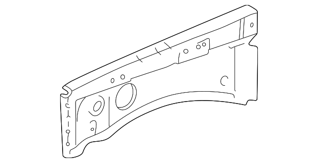 Apron Reinforced - Toyota (53732-60040)