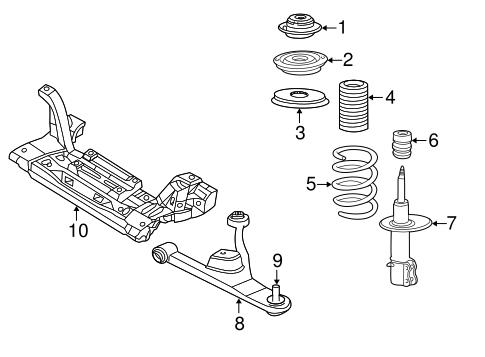 Pt Cruiser Engine Cradle