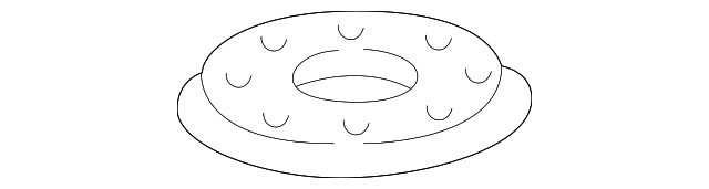 2001 Honda ACCORD SEDAN LX (ABS SIDE SRS) GASKET, BASE - (17574S84A01)
