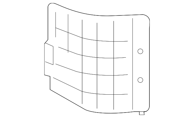 Access Cover - Toyota (58441-0E020-B0)