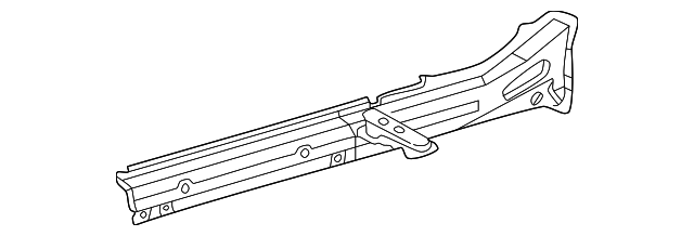 Floor Side Rail - Toyota (57401-42110)