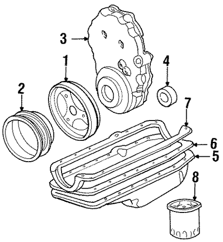 engine parts for 1999 chevrolet tahoe