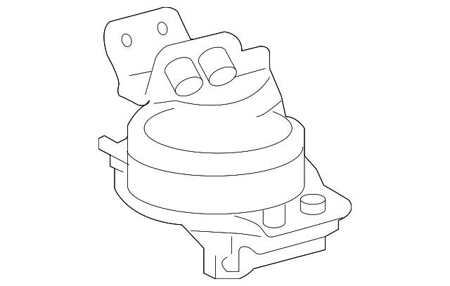 Rear Mount - Toyota (12371-0S040)
