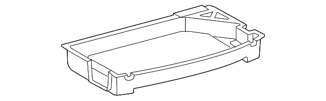 Storage Compartment - Toyota (64993-47020)