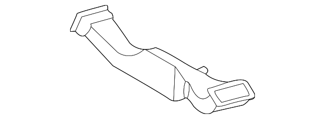 Rear Duct - Toyota (58861-AA010)