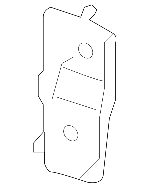 OEM Honda 38101-T2A-A00 - High Note Horn Bracket