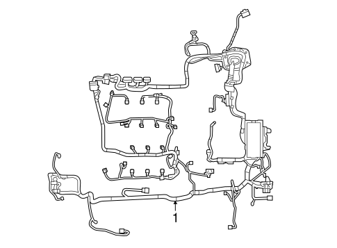 wiring harness for 2015 ford taurus