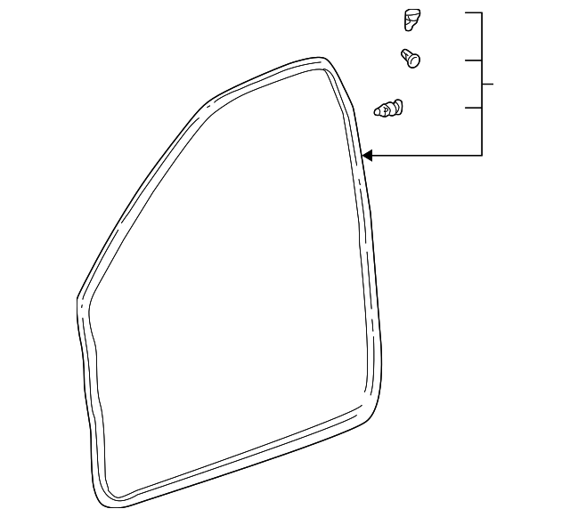 Door Weather-Strip - Toyota (67862-52020)