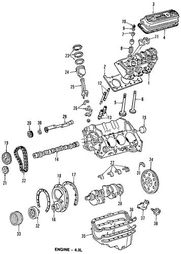 oem engine for 1994 chevrolet g20