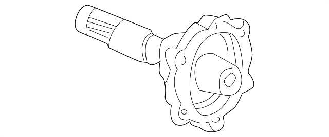 OEM Honda 40443-PCZ-013 - Output Shaft
