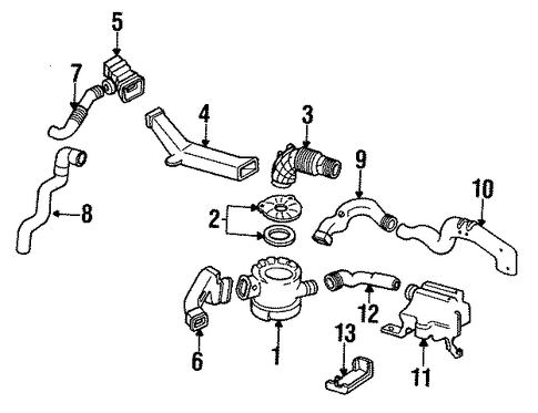 OEM Honda 17241-PK2-010 - Case, Cleaner