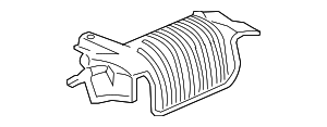 OEM Honda 74655-SJC-A00 - Heat Shield
