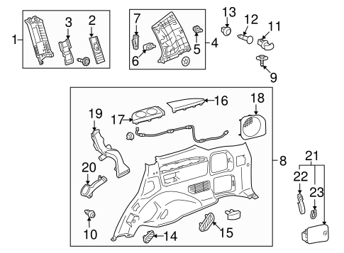 Cup Holder - Toyota (66991-60040-A3)