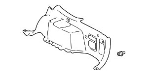 Lower Quarter Trim - Toyota (64730-48020-B1)
