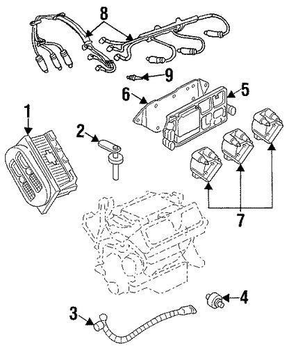 oem ignition system for 2002 pontiac grand prix gmpartscenter net