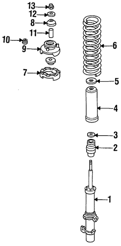 OEM Honda 51621-SD4-004 - Washer