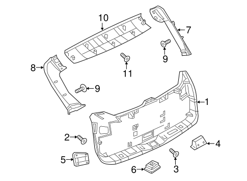Interior Trim For 2015 Nissan Murano