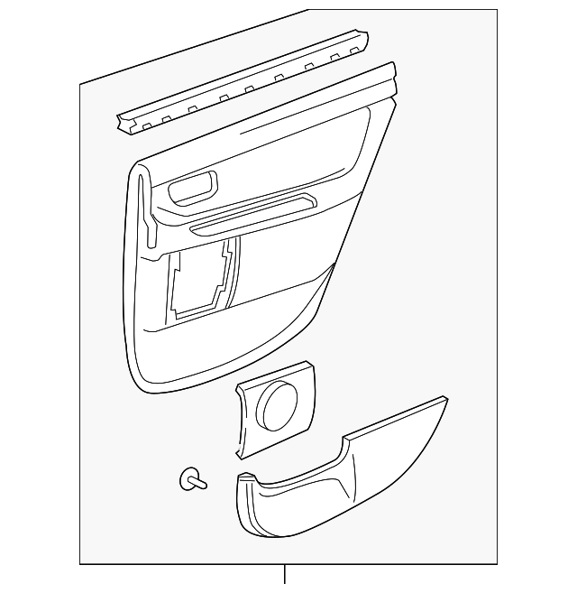 Door Trim Panel - Toyota (67630-AC090-E2)