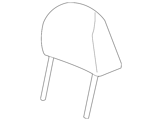 Headrest - Honda (81140-TP6-A11ZA)