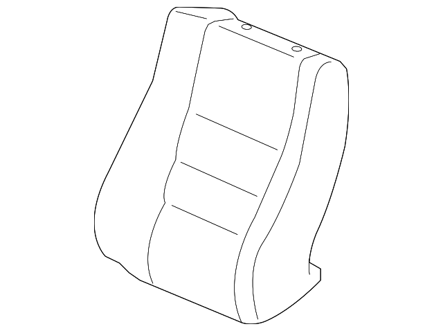 Seat Back Cover - Honda (04815-TP6-A11ZB)