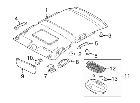 Gm Pad 20983813 in addition Hyundai Pad Assembly Rear Seat Cushion Right Hand 89250b8110 as well 10023885 likewise Honda Pad Set Front 45022t3za01 besides 3. on car pad