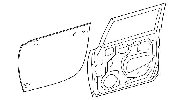 Door Shell - Toyota (67001-35760)