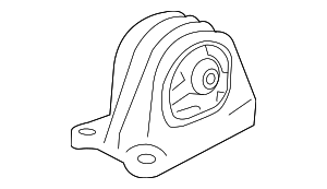OEM Honda 50810-T3V-A01 - Rear Mount