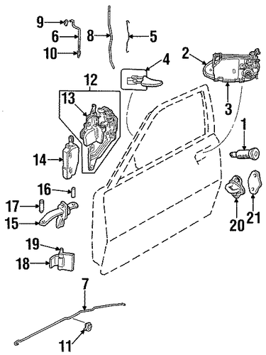 1997 cadillac catera parts information