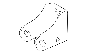Front Mount Bracket - Toyota (12311-0T360)