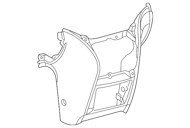 Lower Trim Panel - Toyota (55434-AE010-B0)