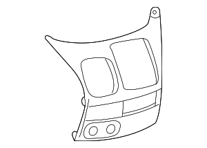 Upper Trim Panel - Toyota (55422-AE020)