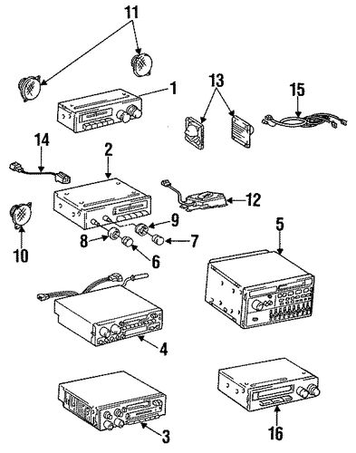 sound system for 1986 toyota pickup