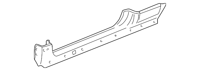 1996 Honda CIVIC HATCHBACK CX PANEL, L. SIDE SILL - (04641S00A00ZZ)