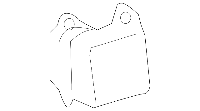 Lid Pocket - Toyota (62594-04010-B0)