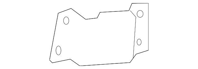 Support Bracket - Toyota (61338-12100)