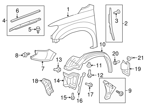 BODY/FENDER & COMPONENTS for 2014 Toyota Tundra #1