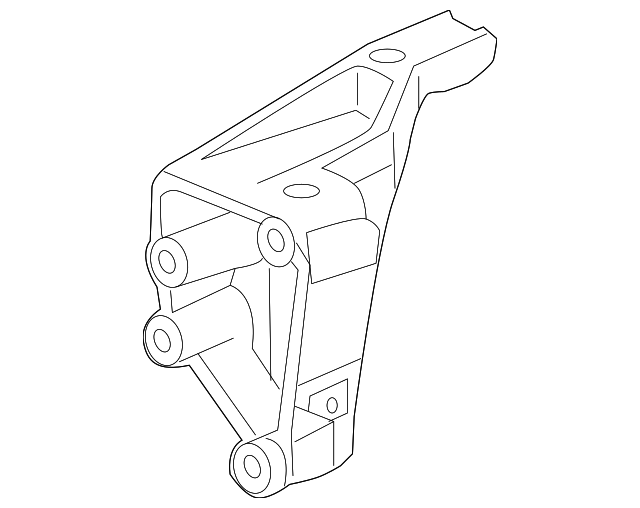 Rear Mount Bracket - Honda (50610-SZA-A00)
